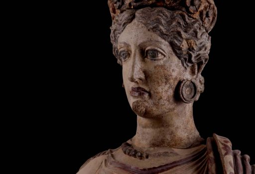 Statua antica di Giunone Sospita