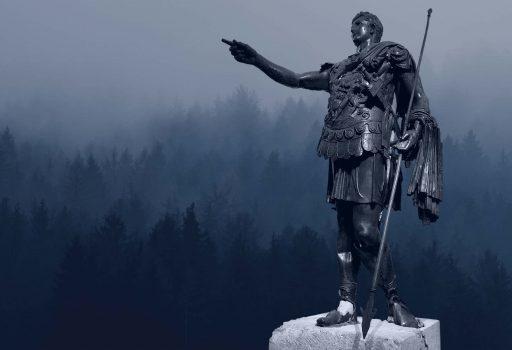 Statua bronzea di Germanico Cesare al museo archeologico di Amelia