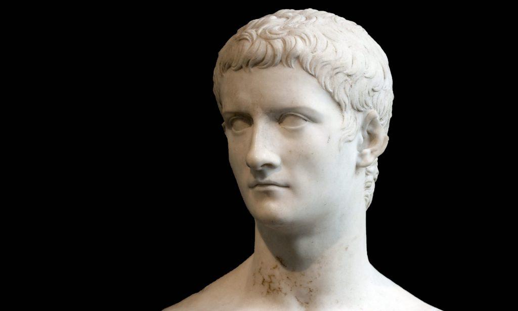 Busto marmoreo dell'imperatore romano Gaio Cesare Caligola