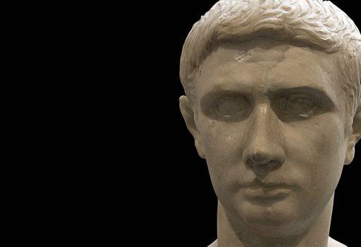 Busto marmoreo di Marco Giunio Bruto