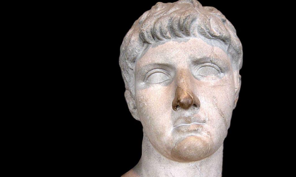 Ritratto in marmo di Druso Claudio Maggiore