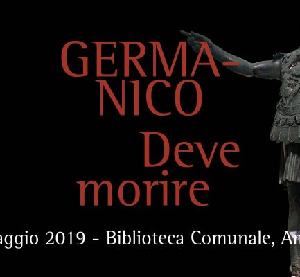 18 maggio – Presentazione del libro: Germanico deve morire
