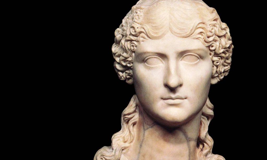 Busto in marmo di Vipsania Agrippina Maggiore