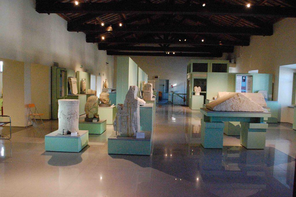 Interno del Museo Archeologico e Pinacoteca di Amelia