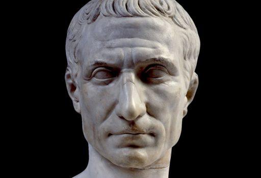 Ritratto in marmo di Giulio Cesare