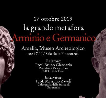 Arminio e Germanico: la grande metafora – 17 ottobre