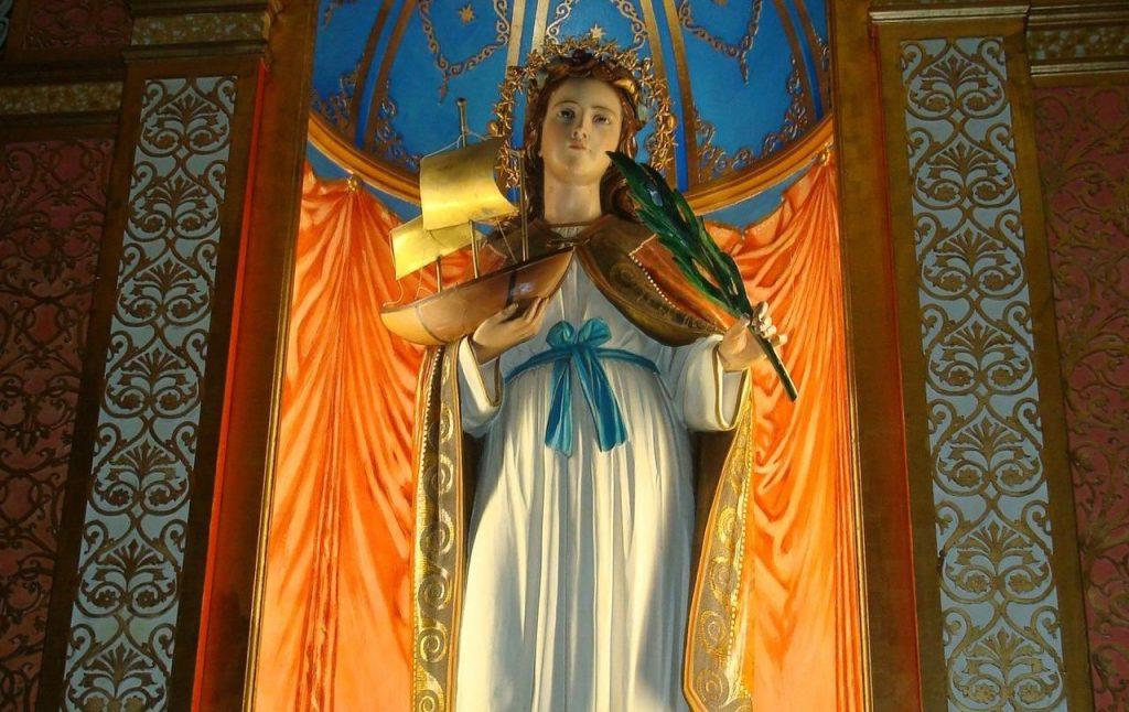 Statua della Santa Firmina