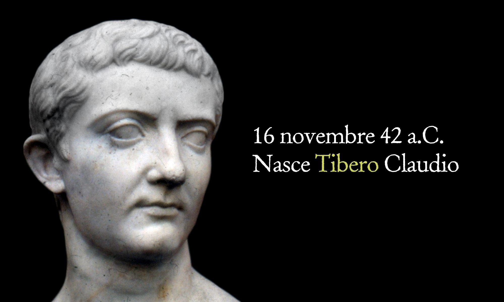 16 novembre 42 a.C. – Nasce Tiberio